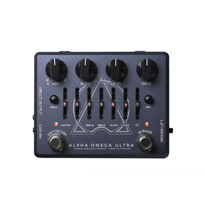 Darkglass Alpha Omega Ultra Dual Distortion Bass Pedal