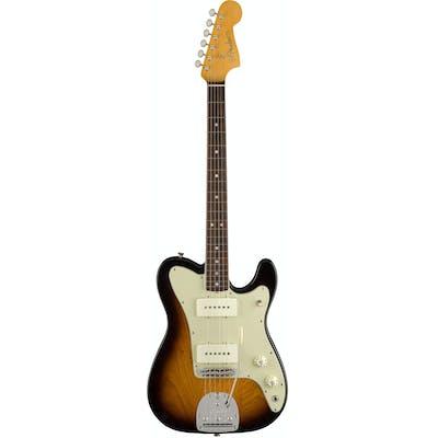 Fender American FSR Jazz-Tele in 2-Tone Sunburst