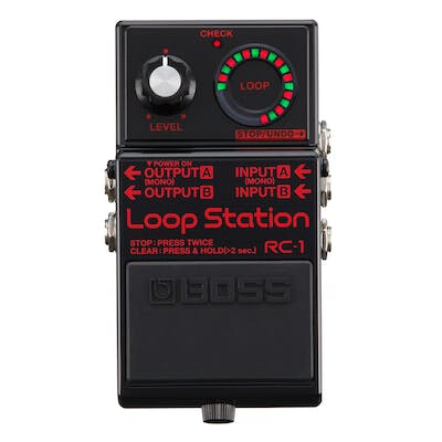 Boss RC-1 Loop Station Black Commemorative Edition