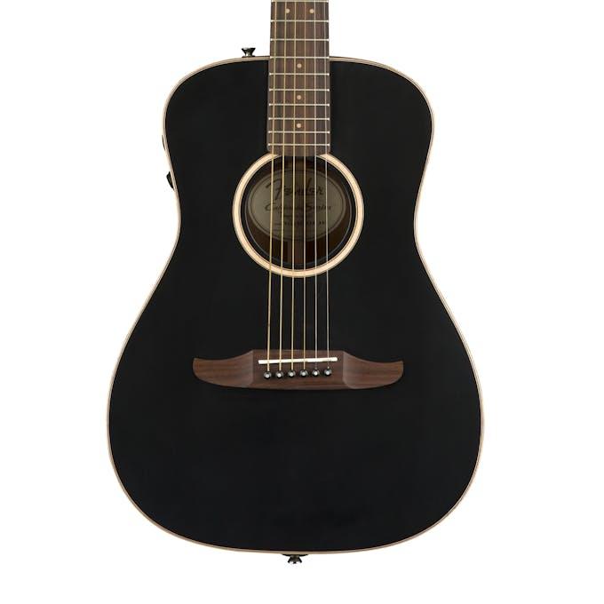 Fender California Series Malibu Special In Matte Black