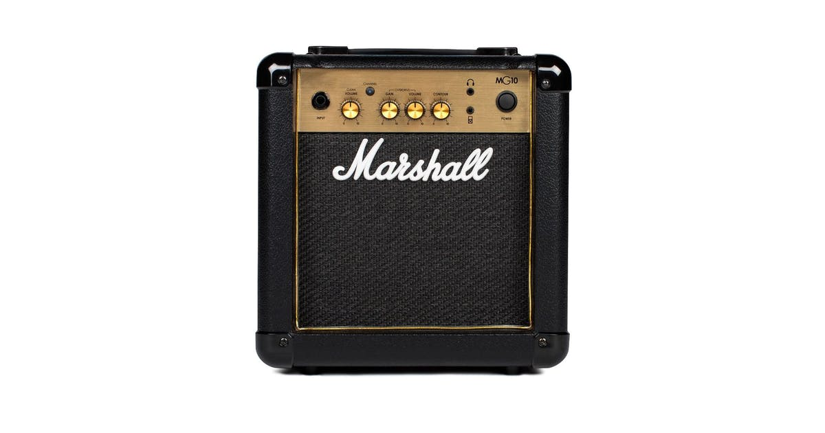 marshall mg10g black and gold 10w guitar combo andertons music co. Black Bedroom Furniture Sets. Home Design Ideas