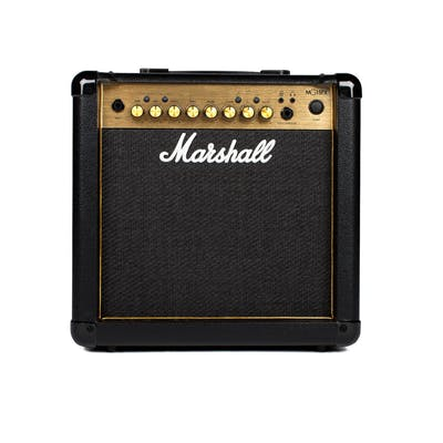 Marshall MG15GFX Black and Gold 10W Guitar Combo