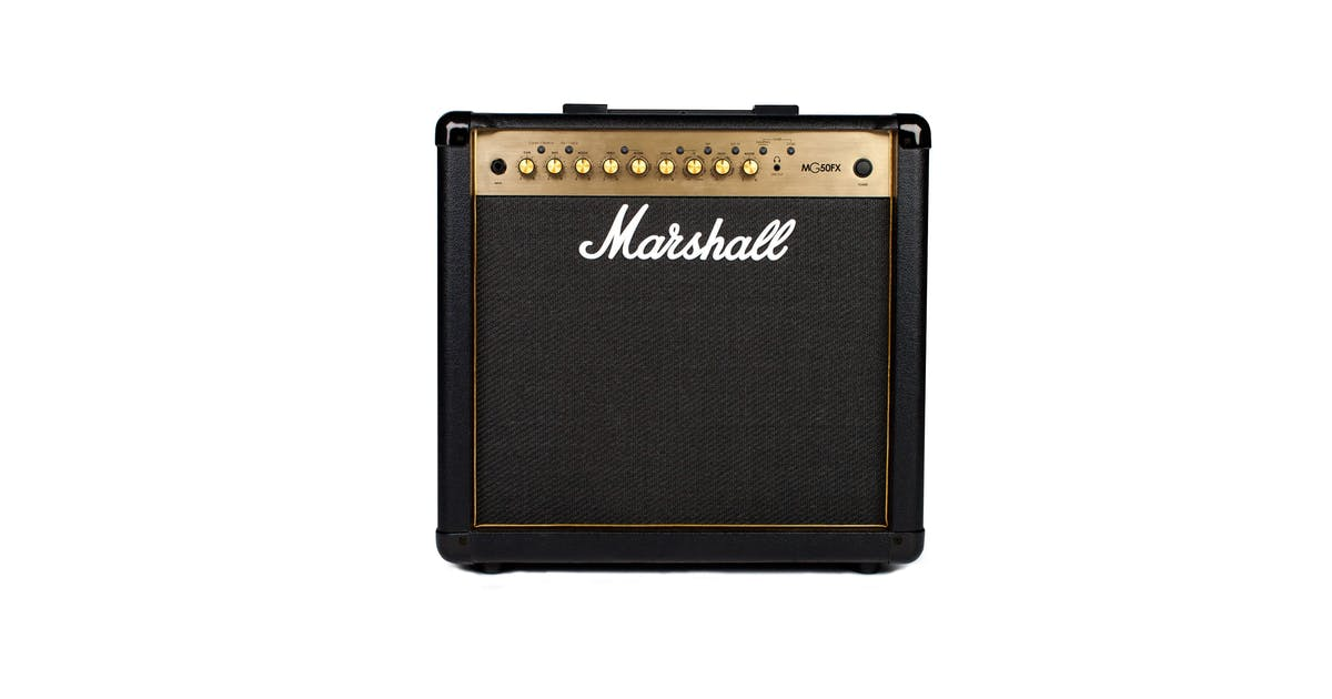 marshall mg30gfx black and gold 30w guitar combo andertons music co. Black Bedroom Furniture Sets. Home Design Ideas