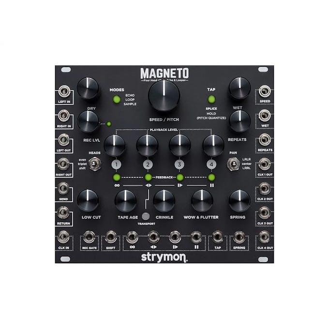 Strymon Magneto 4-Head Eurorack Tape Echo & Looper - Andertons Music Co