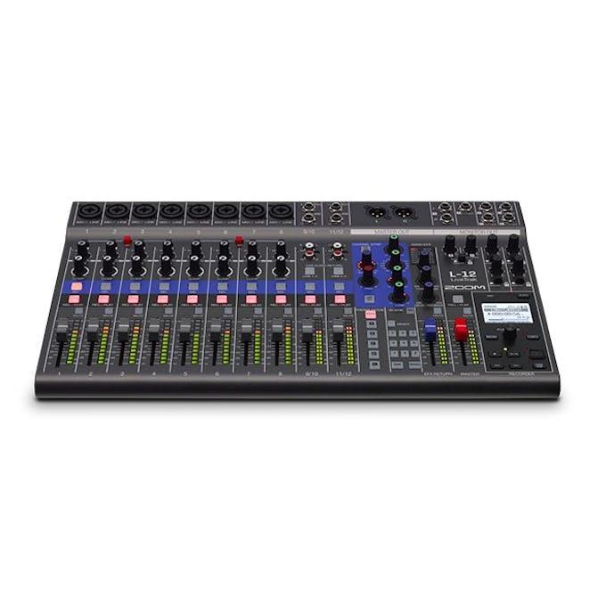 542f46ecd36495 Zoom LiveTrack L12 Mixer - Andertons Music Co.