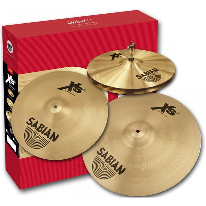 c4422085e457 Sabian XS20 Rock Performance Cymbal Set Natural - Andertons ...