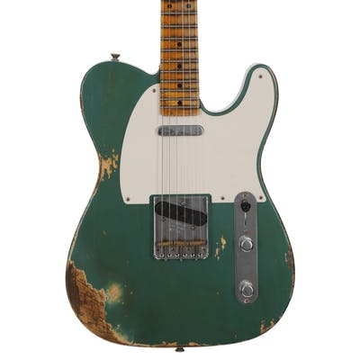 Fender Custom Shop '52 Tele Heavy Relic in Sherwood Green Metallic with Large U Neck