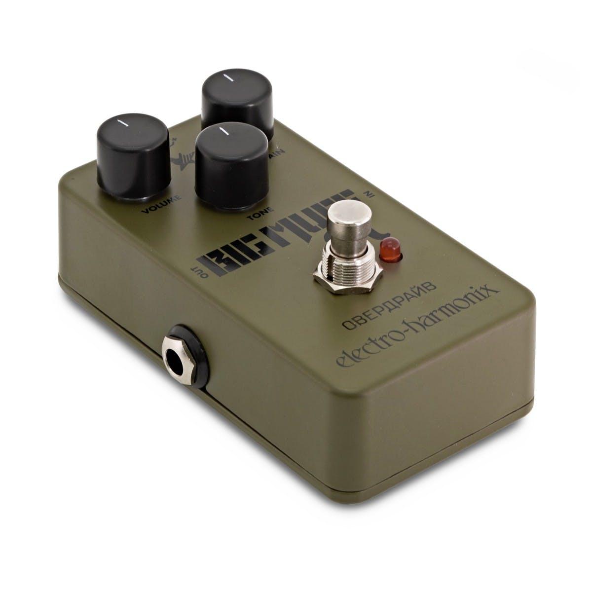Electro Harmonix Green Russian Big Muff Pedal - Andertons Music Co. Music  Co.