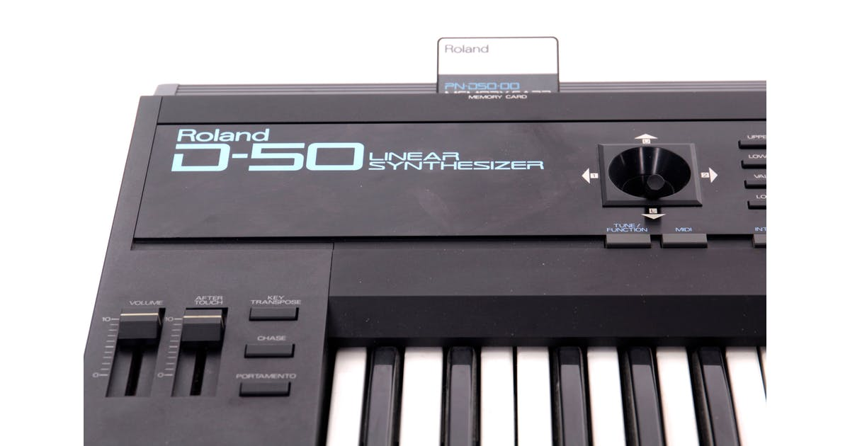 Second Hand Roland D50 Synth at Andertons Music Co