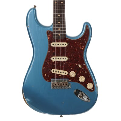 Fender Custom Shop Reissue 1959 Stratocaster Relic Lake Placid Blue