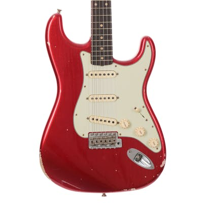 Fender Custom Shop Reissue 1959 Stratocaster Relic Candy Apple Red