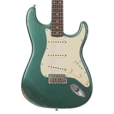 Fender Custom Shop Reissue 1959 Stratocaster Relic Sherwood Green Metallic