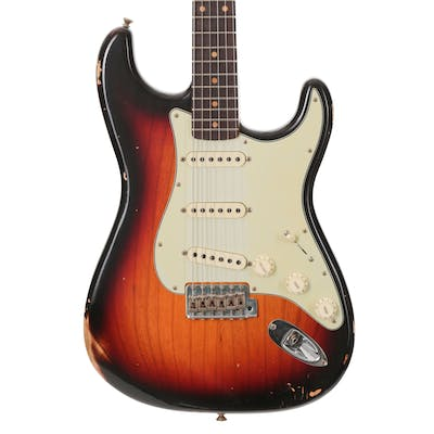 Fender Custom Shop Reissue 1959 Stratocaster Relic 3 colour sunburst