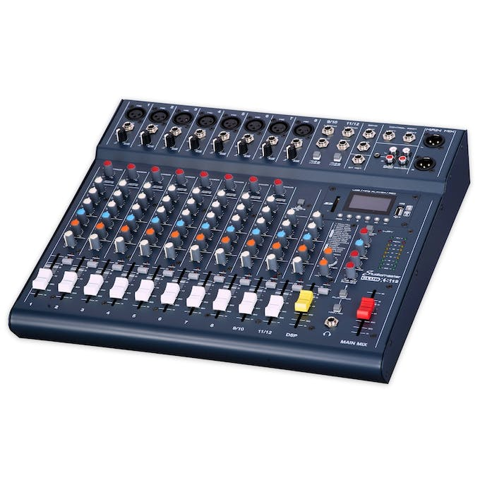 Studiomaster CLUB XS 12 Compact Mixing Console - Andertons Music Co