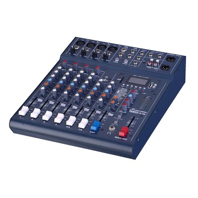Studiomaster CLUB XS 8 Compact Mixing Console USB DSP & Bluetooth
