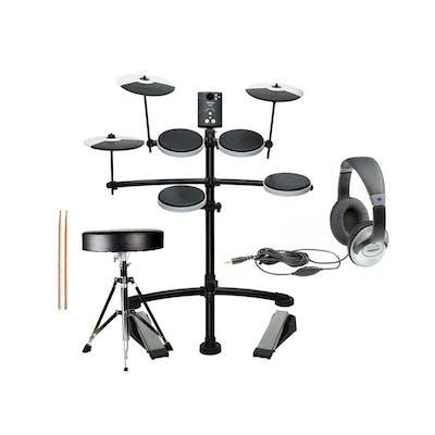Roland TD1K Electronic Drum Kit 7 Accessory Bundle inc. Throne & Sticks!