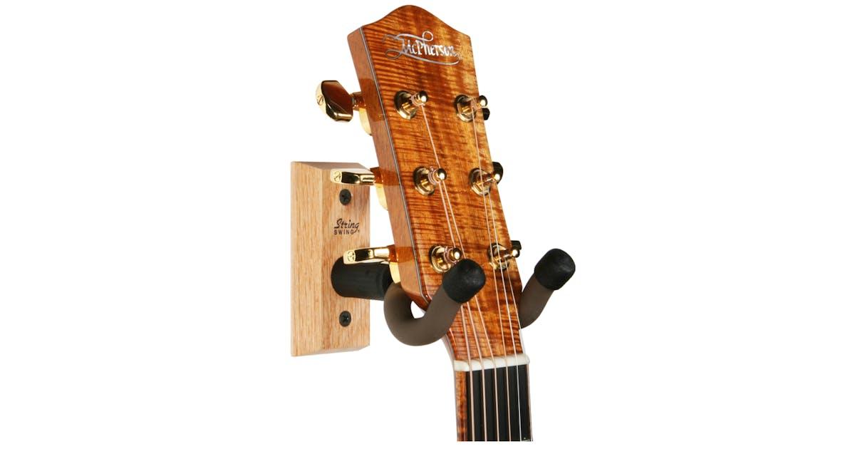 string swing guitar hanger andertons music co. Black Bedroom Furniture Sets. Home Design Ideas