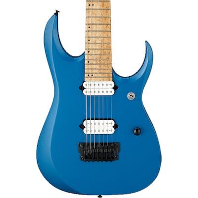Ibanez Iron Label RGDIR7M-LBM 7 String in Laser Blue Matte