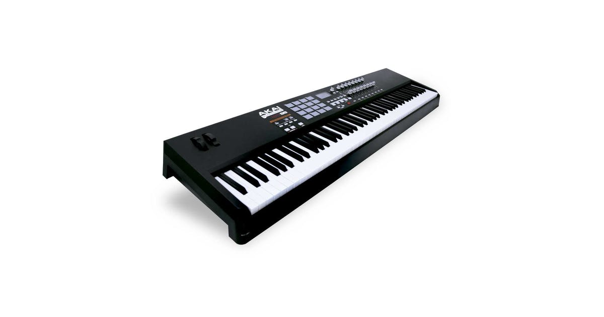 akai mpk88 weighted usb midi controller keyboard andertons music co. Black Bedroom Furniture Sets. Home Design Ideas