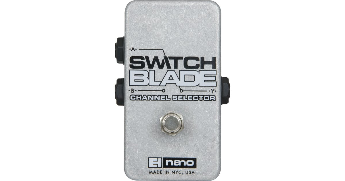 Electro Harmonix Nano Switchblade ABY Pedal - Andertons Music Co