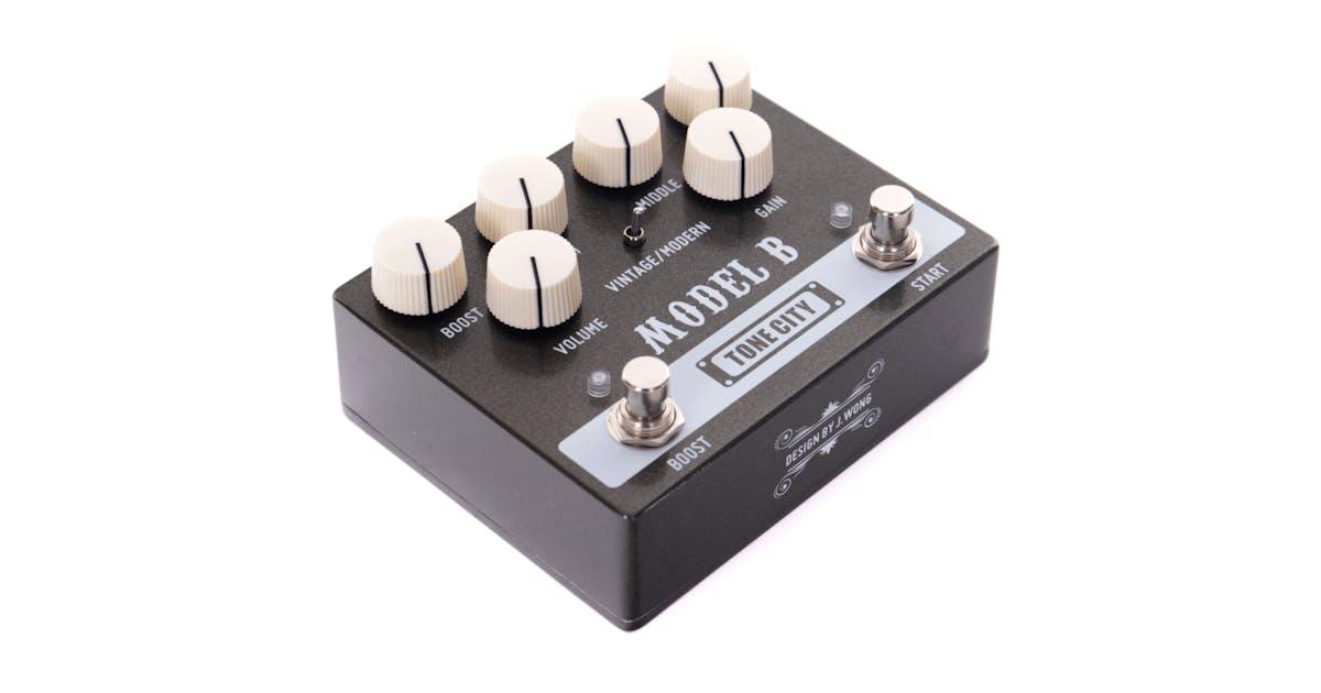tone city model b distortion pedal andertons music co. Black Bedroom Furniture Sets. Home Design Ideas