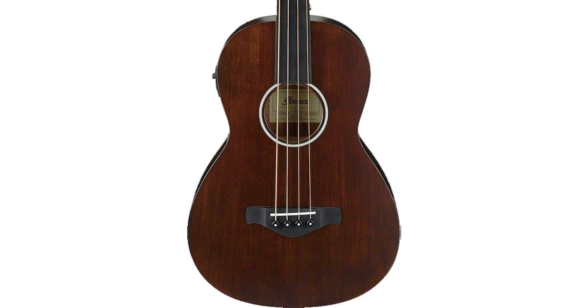 ibanez avnb1fe bv artwood acoustic fretless bass brown violin andertons music co. Black Bedroom Furniture Sets. Home Design Ideas