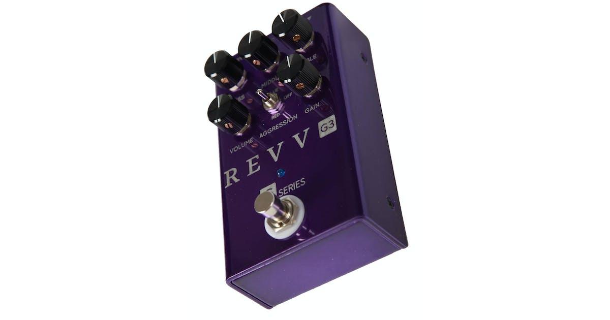 revv amplification g3 distortion pedal andertons music co. Black Bedroom Furniture Sets. Home Design Ideas