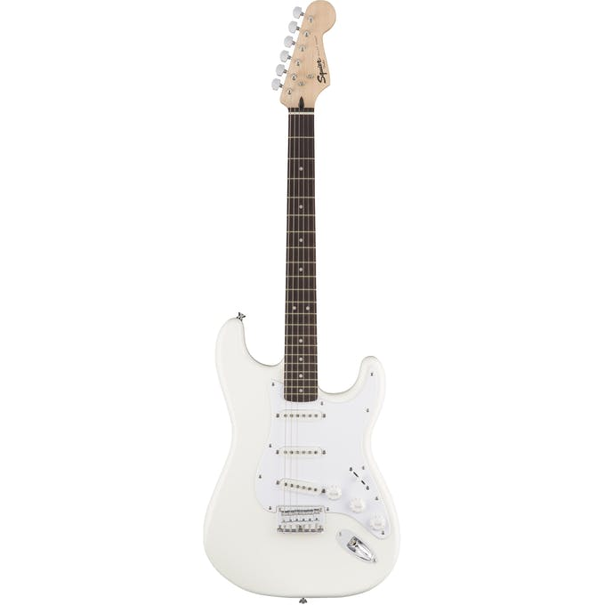 Squier Bullet Stratocaster Hardtail Arctic White with Indian