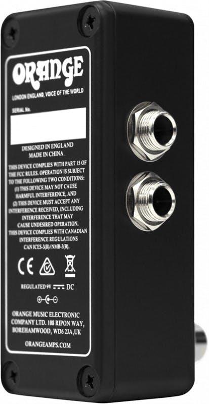 Orange OMEC Teleport USB Audio Interface Pedal - Andertons Music Co