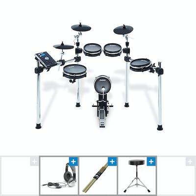Alesis Command Mesh Electric Drum Kit w/ Sticks, Stool & Headphones -  Andertons Music Co