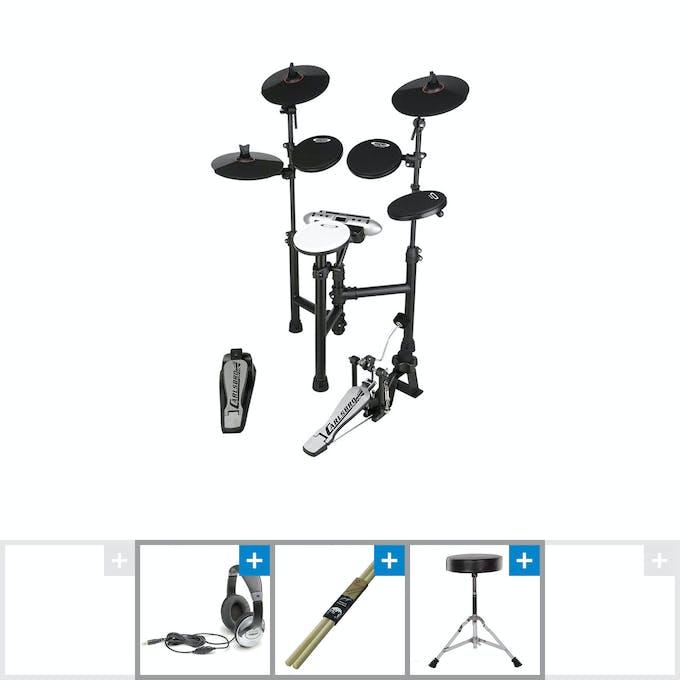 Carlsbro Commander 130 Electric Drum Kit w/ Stool, Sticks & Headphones -  Andertons Music Co