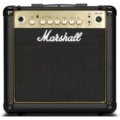 Marshall MG15GR 15W Black and Gold Guitar Combo