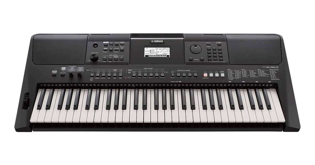yamaha psr e463 61 key portable keyboard psu included. Black Bedroom Furniture Sets. Home Design Ideas