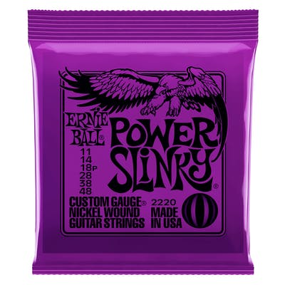 Ernie Ball Power Slinky Strings 11-48