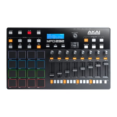 Akai MPD232 USB Midi Pad Controller with 32 Step Sequencer