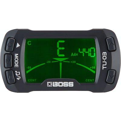 Boss TU-03 Clip on Tuner & Metronome