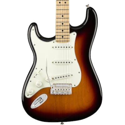 Fender Player Stratocaster Left Handed w/ Maple Fretboard in 3-Color Sunburst