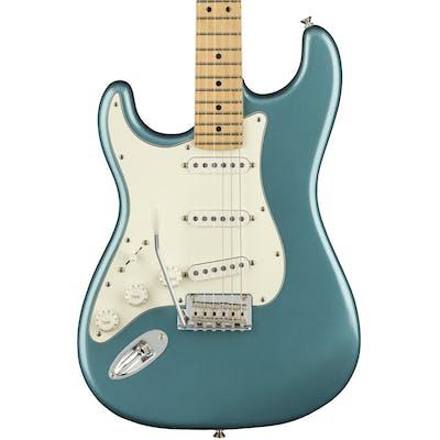 Fender Player Stratocaster Left Handed w/ Maple Fretboard in Tidepool