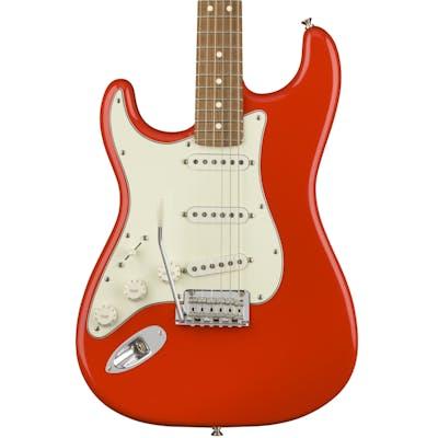 Fender Player Stratocaster Left Handed w/ Pau Ferro Fretboard in Sonic Red