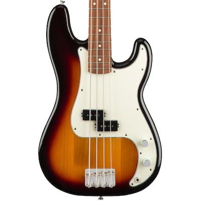 Fender Player Precision Bass with Pau Ferro Fretboard in 3-Color Sunburst