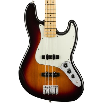 Fender Player Jazz Bass w/ Maple Fretboard in 3-Color Sunburst