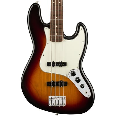 Fender Player Jazz Bass w/ Pau Ferro Fretboard in 3-Color Sunburst