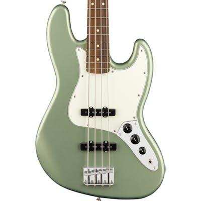 Fender Player Jazz Bass w/ Pau Ferro Fretboard in Sage Green Metallic