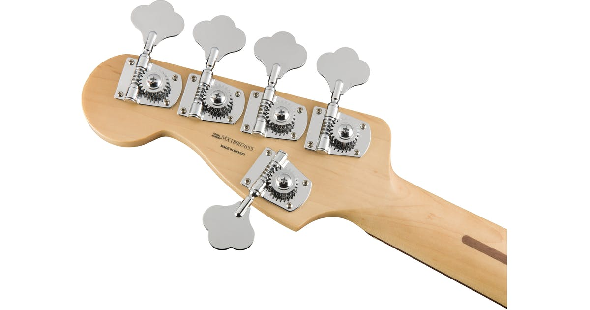 fender player jazz 5 string w pau ferro fretboard in polar white. Black Bedroom Furniture Sets. Home Design Ideas