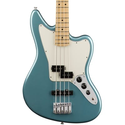 Fender Player Jaguar Bass w/ Maple Fretboard in Tidepool