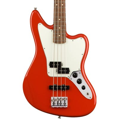 Fender Player Jaguar Bass w/ Pau Ferro Fretboard in Sonic Red
