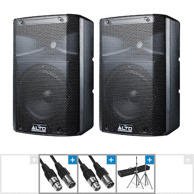 Alto TX208 Active PA System Bundle