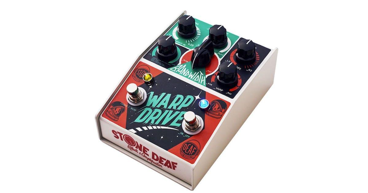stone deaf warp drive high gain distortion pedal andertons music co. Black Bedroom Furniture Sets. Home Design Ideas