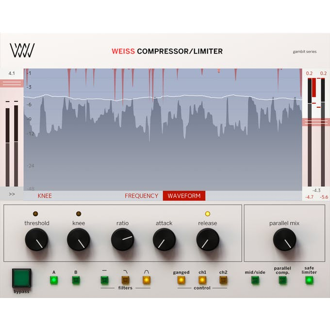 Softube Weiss Comp Limiter - Andertons Music Co