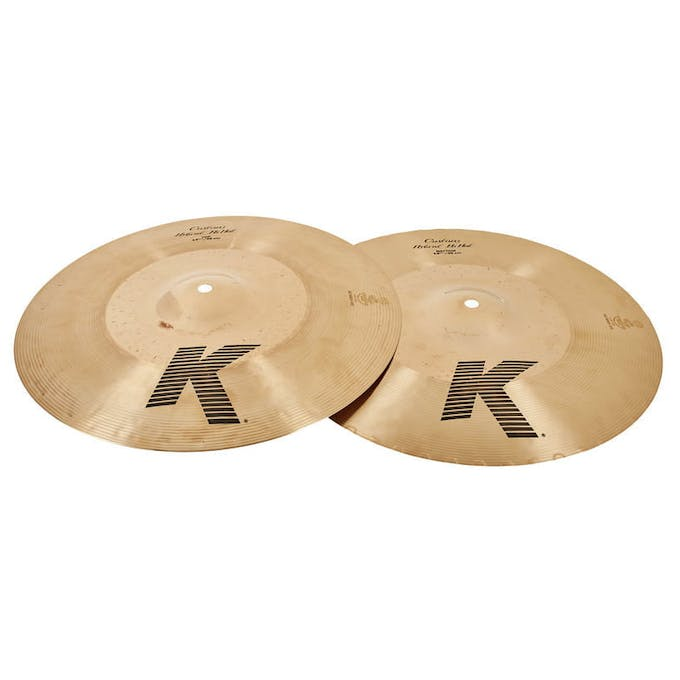Zildjian K Custom Hybrid Special Pack, 14 Hi Hats, 16 Crash
